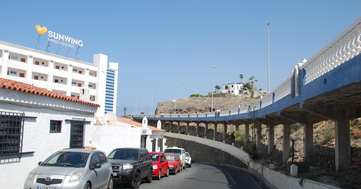 Mogán forced to close part of the GC-500 for at least two months