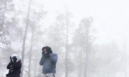 Gran Canaria prepares for 2nd snow storm in a week