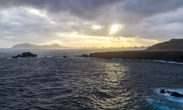 A blustery night with some strong gusts and rough seas expected to continue on Friday