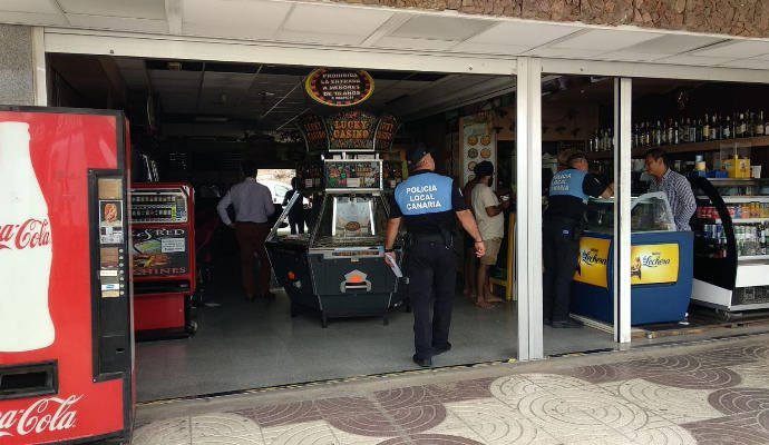 7 year old girl electrocuted on arcade ride in Playa del Inglés