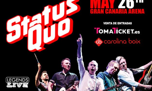 The Legendary STATUS QUO play Gran Canaria Arena this Saturday night