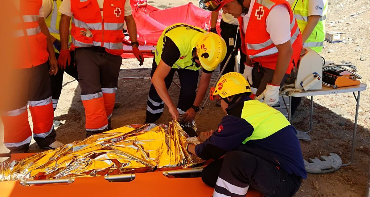 Air accident simulation exercise at Gran Canaria airport | The ...