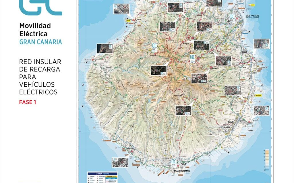 Almost €300,000 for electric vehicle recharging points in 17 Gran Canaria municipalities