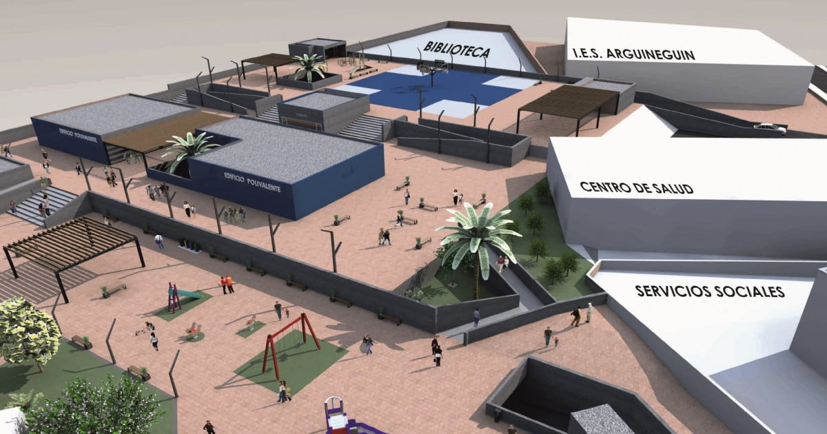 Canaries President applauds new car park project in Arguineguín