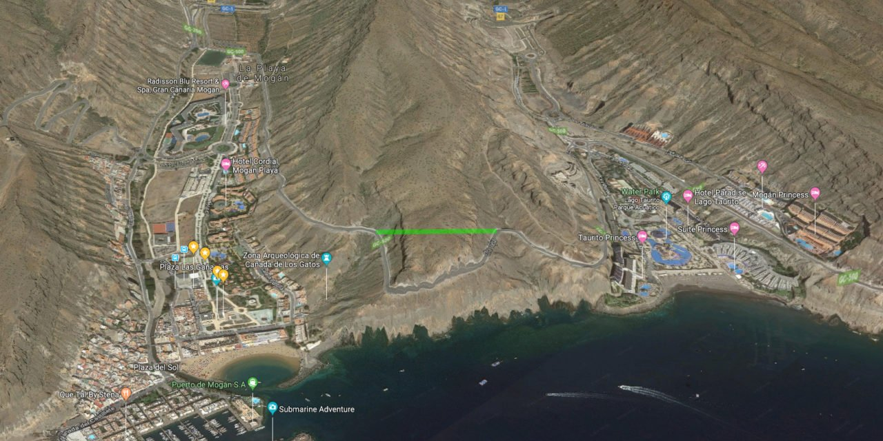 Mogán tunnel project to re-establish links with Taurito and Playa de Mogán