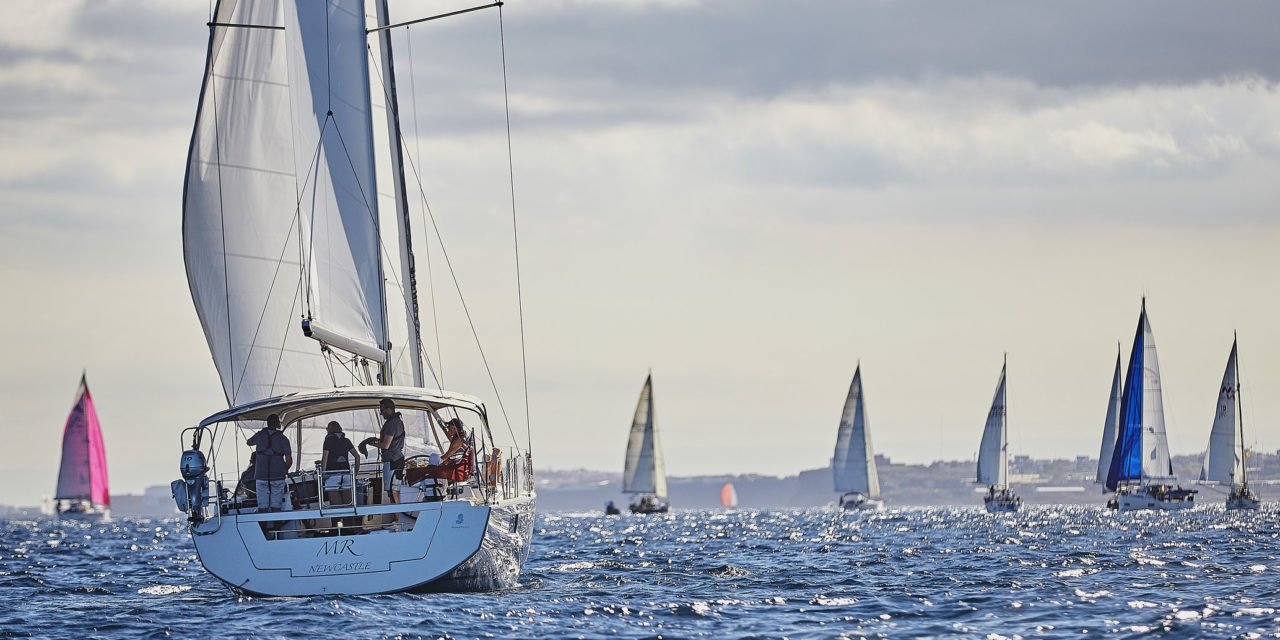 The 33rd edition of the ARC gets underway in perfect cruising rally conditions