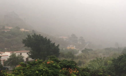 Weather:Canary Islands warnings for wind, rain and rough seas