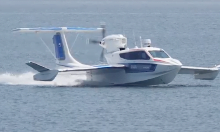 New flying boat to connect the two Canarian capitals, just 30 minutes each way