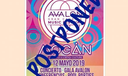 "Mogan town hall's new ""AVALON"" music festival unexpectedly postponed till September 2019"