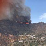 New & Ferocious Gran Canaria Forest Fire consumes hillsides around Valleseco