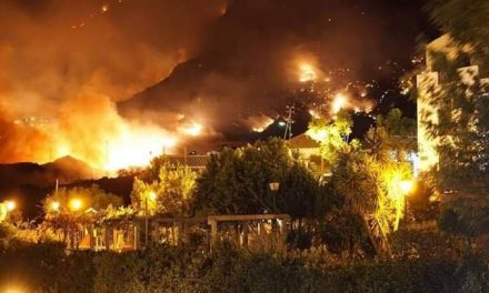 The first Artenara forest fire on Gran Canaria is now considered extinguished