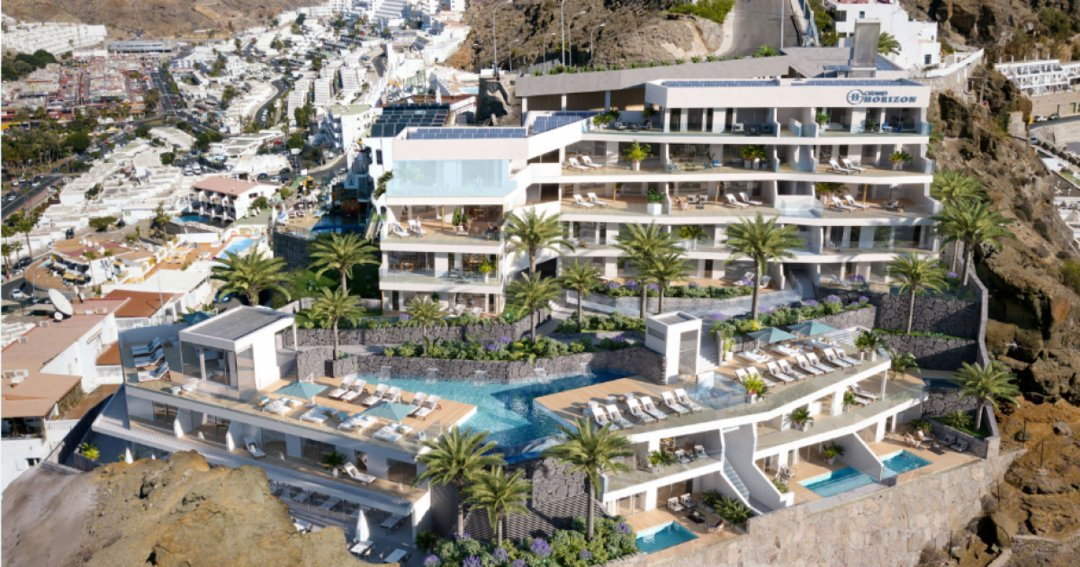 Mogán grants the license for the construction of a luxury tourist complex in Puerto Rico