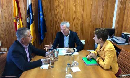 Mogán and the Government of the Canary Islands discuss Pueblo de Mogán bypass and the planned Taurito tunnel