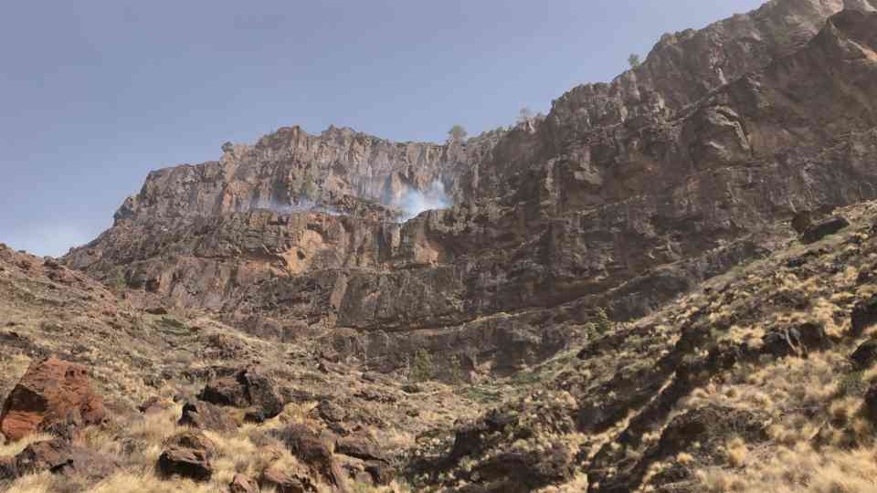 Fires on Gran Canaria appear controlled, situation evolving…
