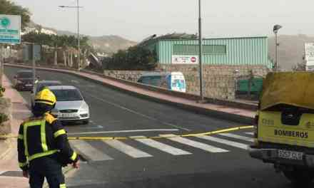 Firefighter injured protecting member of public from debris in Puerto Rico de Gran Canaria