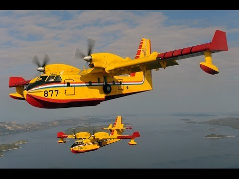 The two seaplanes required for the Tasarte fire, on Gran Canaria, will arrive this afternoon