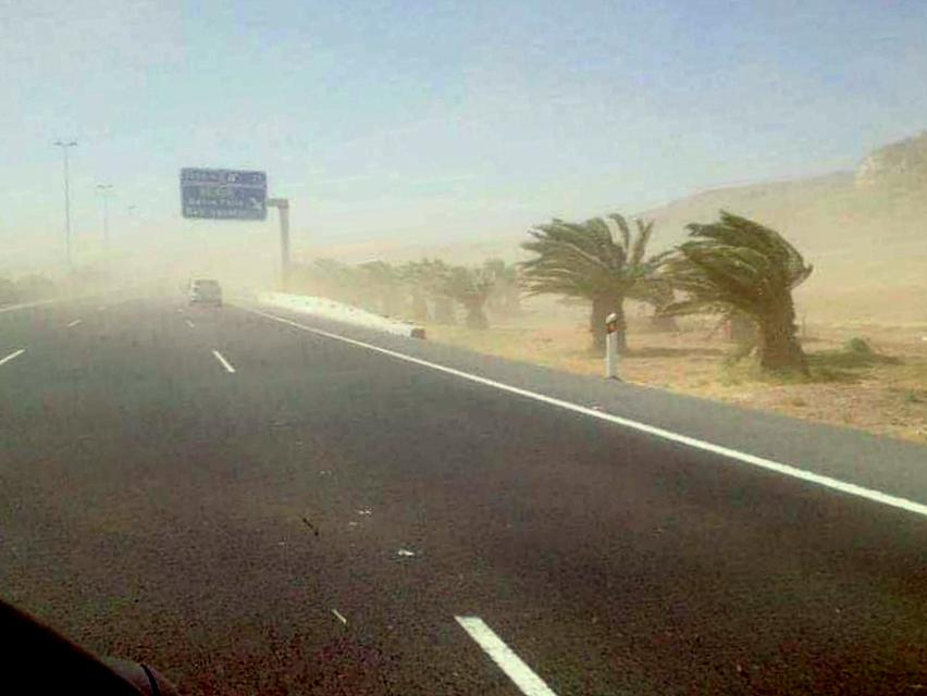 Gran Canaria Weather: Uncertainty, Strong Winds, Heavy Seas, and Calima Dust
