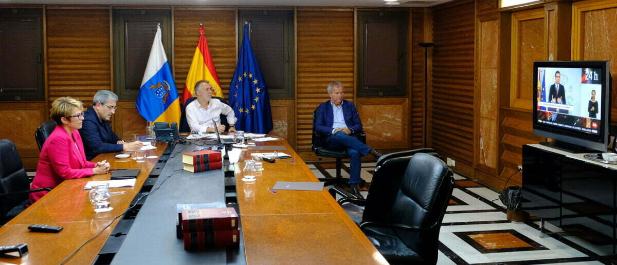 Canary Islands President to meet with Spanish regional leaders by video
