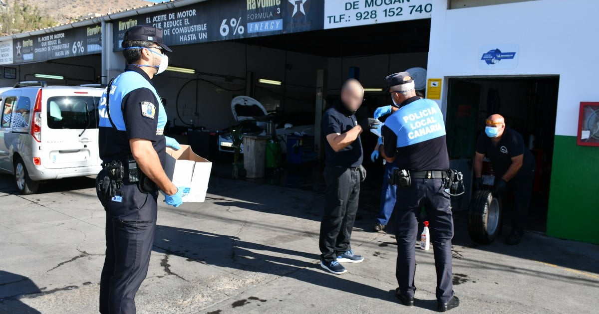 The Canary Islands to review measures ensuring masks are worn when necessary