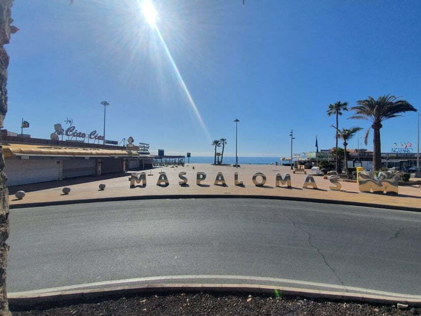 The beaches of Maspalomas and Playa del Inglés will reopen this Wednesday, along with all others in San Bartolomé de Tirajana
