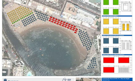 Gran Canaria's Mogán town hall propose dividing tourist beaches into sectors, once recreational use is allowed again