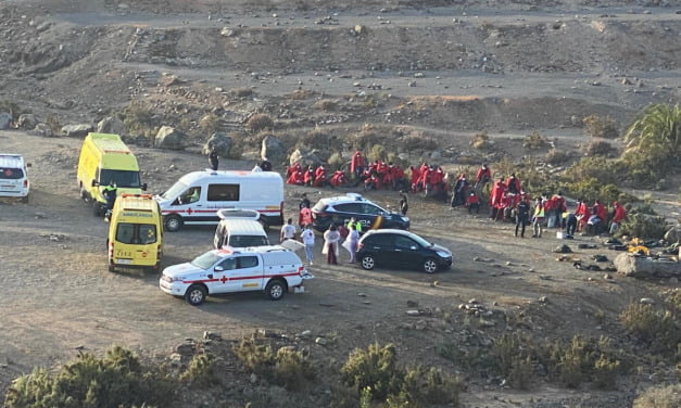 Two boatloads of migrants rescued on the south of Gran Canaria