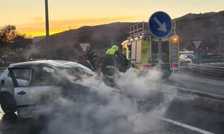 Car crash in Puerto Rico de Gran Canaria leaves three injured