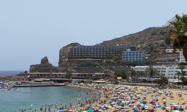 Scorching high temperatures on Gran Canaria for the next 4 days, Risk to Health advisories issued