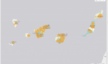 The Canary Islands: lowest infection rates, new cases per hundred thousand, in all Europe