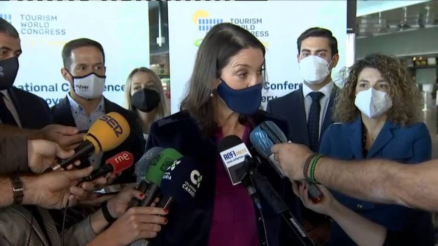 Spain's Tourism Minister insists that, at the moment, only PCR tests are allowed for travel from high risk areas