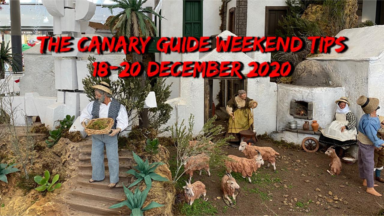 The Canary Guide Weekend Tips 18-20 December 2020