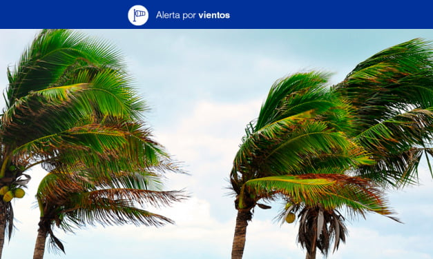 Weather: Strong winds alert and rain all week across The Canary Islands