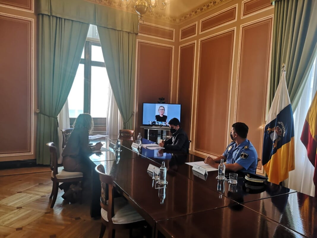 Spanish Government Delegation security round table meetings, with the town councils of Gran Canaria tourist municipalities, review migrant situation