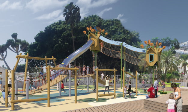 Mogán's brilliant new plan to spend more than €2m in Puerto Rico de Gran Canaria, by building a second urban park and children's area, with trees