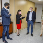 Meeting with TUI Group CEO, Sebastian Ebel, confirms good forecasts for the Canary Islands and confidence in the reactivation of holidays from this summer