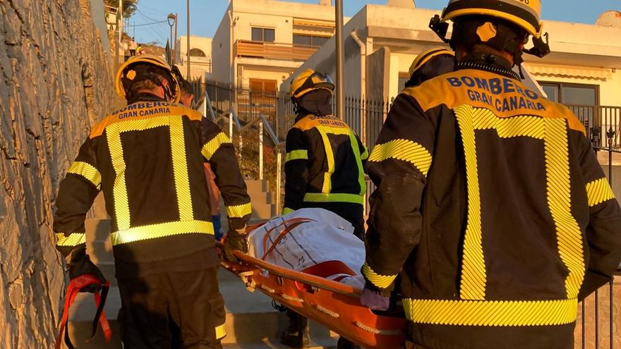 Balcony fall on Gran Canaria, 58-year old man in Patalavaca taken to hospital with head injuries