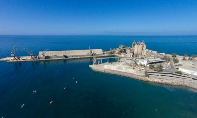 CEISA group's iconic Gran Canaria cement factory at El Pajar request renewal of private port concession from Puertos Canarios