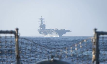 US Naval 6th Fleet IKE Strike Group conduct maritime exercises with Morocco in Operation Lightning Handshake