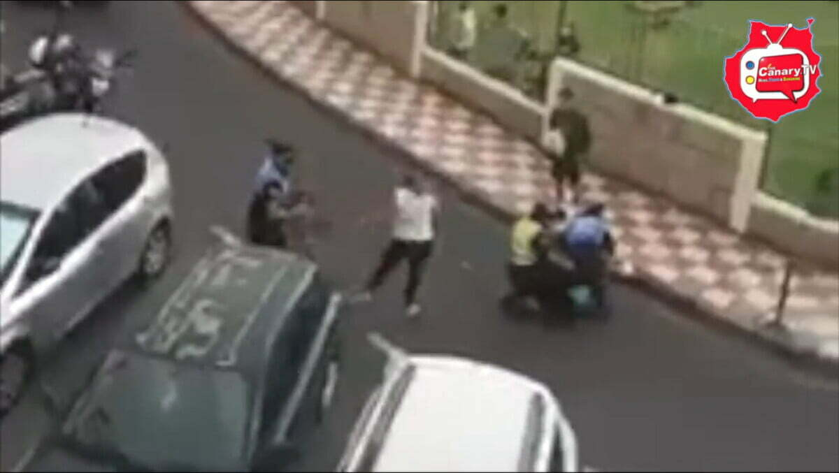 Meanwhile on Tenerife: Feisty British immigrant couple wrestled to the ground by Policia Local after illegally parking in disability space