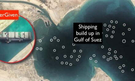 Shipping companies start sending ships to the Las Palmas de Gran Canaria Port of La Luz to circumvent the blocked Suez Canal