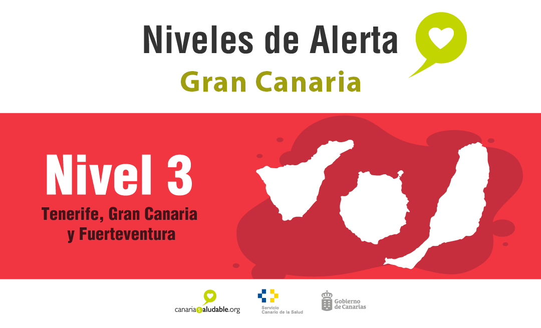 Here are the current guidelines of Alert Level 3 on Gran Canaria, Tenerife & Fuerteventura that came into effect at 00:01 on Saturday April 10