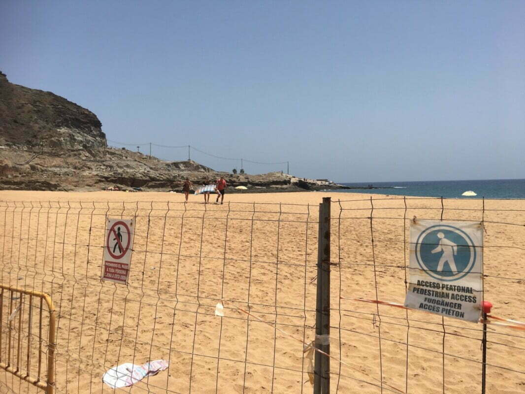 Coastal Authority postpones Anfi signing the nullified concession on Tauro beach, awaiting TSJC High Court conclusions
