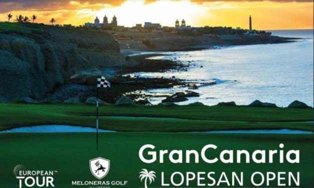 Fore! Huge success for the European Tour at the Gran Canaria Lopesan Open helped with a header from our man Gilliam…