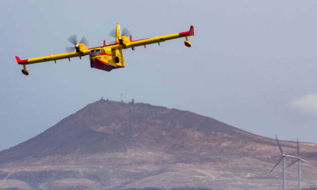 Seaplane heroes of 43 Group carry out Gran Canaria exercises ahead of the summer heat