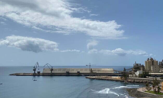 Government commission studies the future use of the port of Santa Águeda, El Pajar