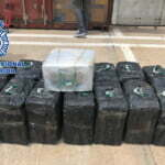 450 kg of cocaine found in a container at the port of Las Palmas