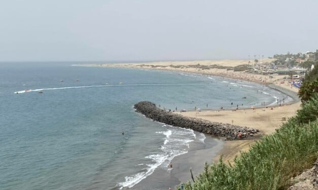 Gran Canaria Weather: It is very HOT but easing a little