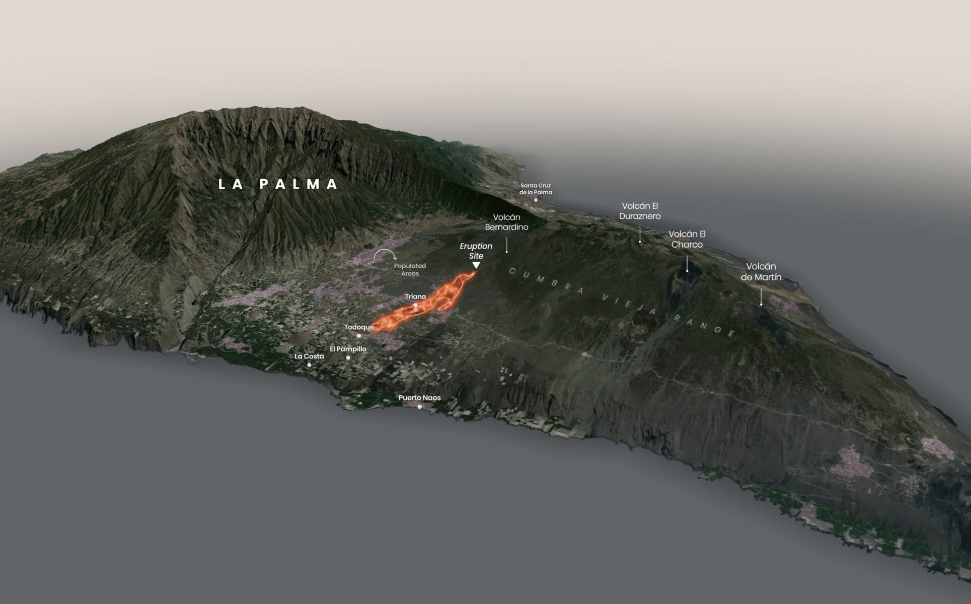 280 new houses to be bought for La Palma evacuees as Volcano continues to erupt