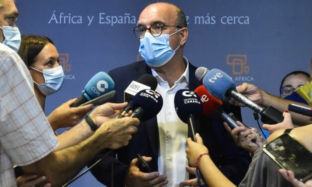 """Spain's Government Delegate, Anselmo Pestana, predicts """"days of tension"""" in the face of migratory rebound this autumn"""