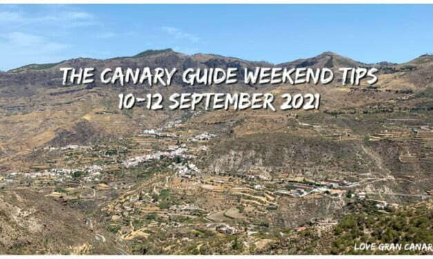 The Canary Guide Weekend Tips 10-12 September 2021